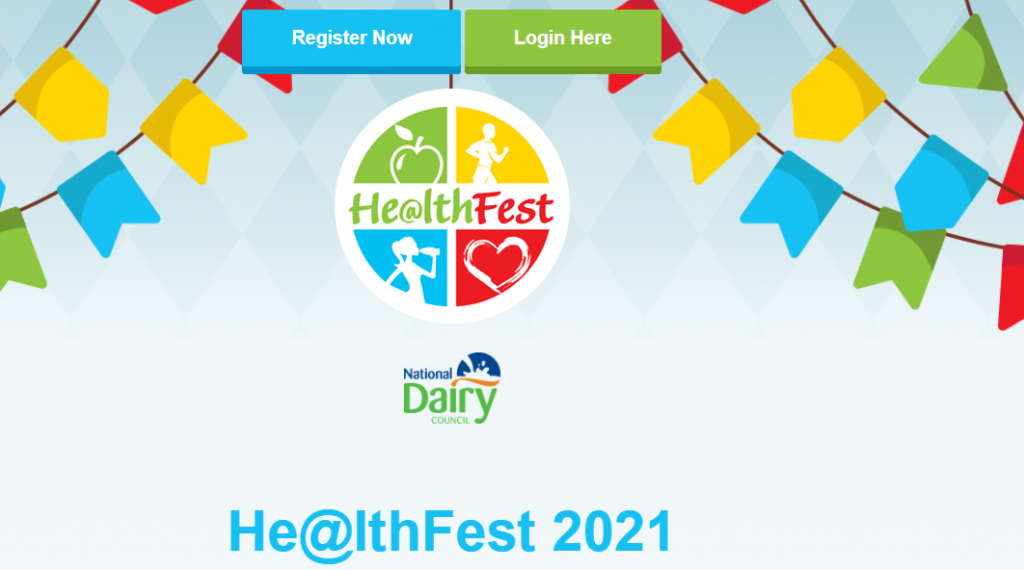 Healthfest 2021 webinar for TY and 5th Years