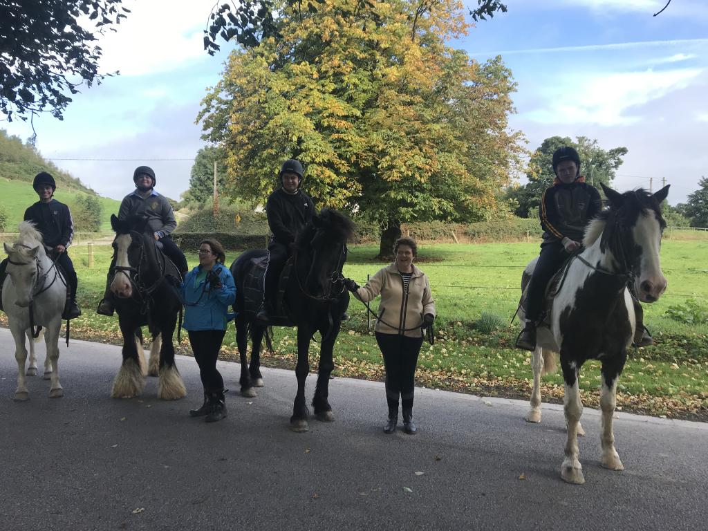 Horse Riding at Liskennet